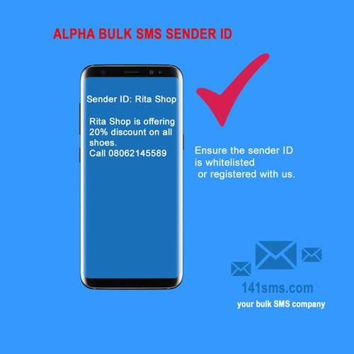 Alpha bulk SMS Sender ID