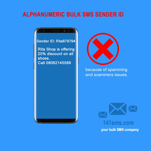Alphanumeric bulk SMS Sender ID