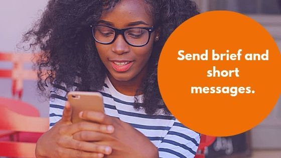 Send brief and short messages bulk SMS Messages.
